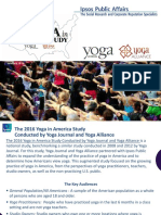2016 Yoga in America Study RESULTS