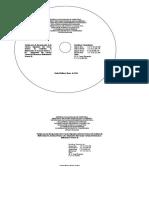 Modelo Del CD y Caratula de La Caja Del CD - Copia