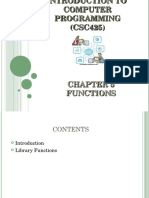 6 Functions