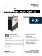 Manual Power Wave 1000