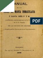 Manual Hijas de María Inmaculada y Santa Inés