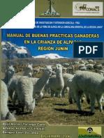 Manual de Buenas Practicas Ganaderas Alpaca Region Junin