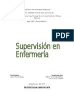 Supervision Enfermería