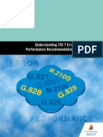 Understanding ITU-T Error Performance Recommendations