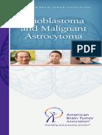 Glioblastoma Brochure