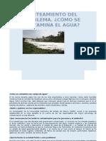 Planteamiento Del Problema. ¿Cómo Se Contamina El Agua 1