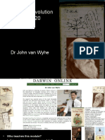 01 Darwin and Evolution GET1020_ J. Van Wyhe (1)