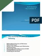 MyCambodiaTv Training