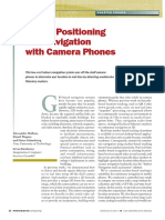 Indoor Positioning Camera
