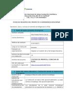 Ficha Inscripción Del Proyecto_Alba Piedad Penilla Garcia_I.E Eustaquio Palacios_Cali