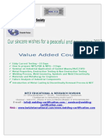 Value Added Courses