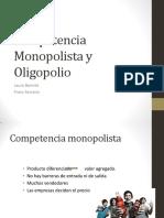 Capítulo 12 Competencia Monopolística y Oligopolio