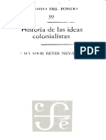 Historia de Las Idea Colonialistas