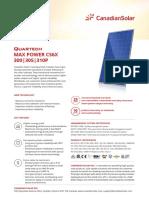 Datasheet Quartech CS6X-P En