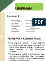 Kepemimpinan (Manajemen Rumah Sakit)