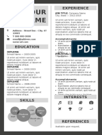 Fitzroy Resume A4