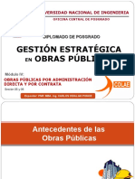Obras Publicas Por Administración Directa