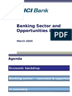 Banking Sector and Opportunities in Indiar