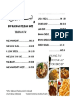 Template Simple Menu Makanan