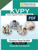 kvpy sx 8 Year TP