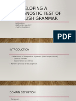 developing a diagnostic test of english grammar-2
