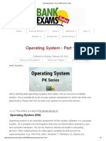 1Operating System - Part 1 _ Bank Exams Today