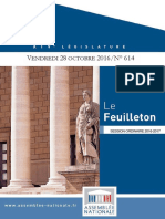 Assemblee Nationale Session Ordinaire 2016 -2017