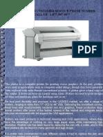 Color Plotter Printer Customer Service Phone Number