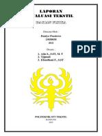 Laporan Eval DANTYO - Cover & Daftar Isi
