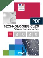 Technologies clés 2020 - Un guide opérationnel pour l'Industrie du futur