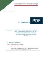 02.00 Memoria Descriptiva Chaccho