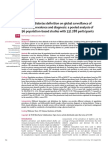 Global Surveillance of Diabetes