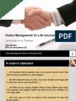Claim Management for Life Insurance-Mr. Zain Ibrahim