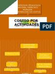 Presentacion ,Costeo Por Actividades