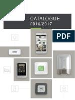 Catalogue Pro DeltaDore 2016-2017