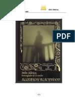 Algernon Blackwood John Silence Investigador de Lo Oculto