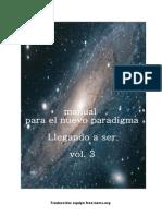 Manual Para El Nuevo Paradigma-Volumen-3