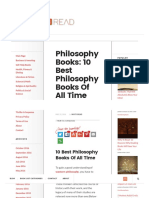 Philosophy Books_ 10 Must Read Philosophy Books of All Time