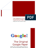 A Review of 'the Anatomy of a Large-Scale Hypertextual Web Search Engine'