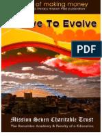 Involve to Evolve