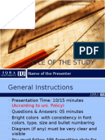 Business Project (P2) Presentation Template