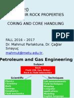 CORING (Petroleum)