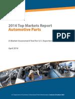 Autoparts Top Markets Report