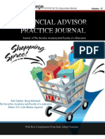 Journal of FInance Vol 17