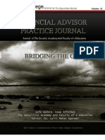 Journal of FInance Vol 21