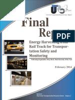 Final Energy Harvesting Railtrack