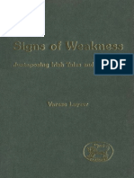 (Journal for the Study of the Old Testament Supplement Series 321) Varese Layzer-Signs of Weakness_ Juxtaposing Irish Tales and the Bible (JSOT Supplement)-Sheffield Academic Press (2001).pdf