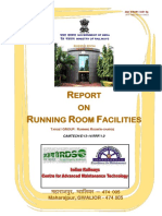 Report on Running Room Facilities