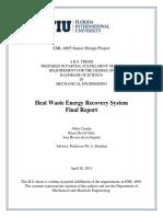 2011spr T4 HeatWasteEnergyRecoverySystem FinalReport