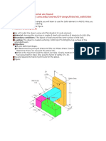2_Analysis of a 3D Solid Object